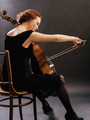 Cello player enjoying her music - PhotoDune Item for Sale