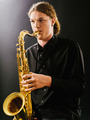 Young saxophone player - PhotoDune Item for Sale