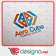 Aero Cube 'A' Logo Templates - GraphicRiver Item for Sale