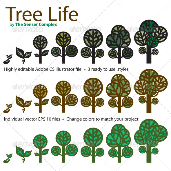 GraphicRiver Tree Life 6279239