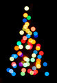 Silhouette of Christmas tree - PhotoDune Item for Sale