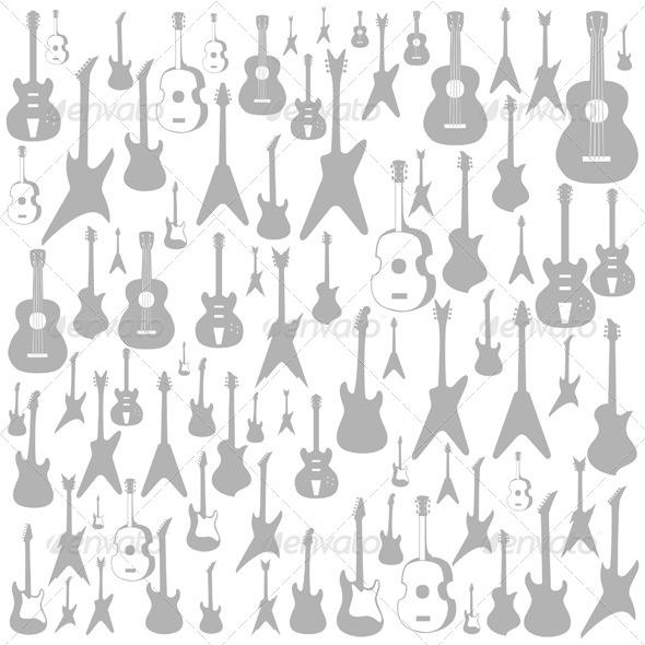 GraphicRiver Guitar Background 6279508