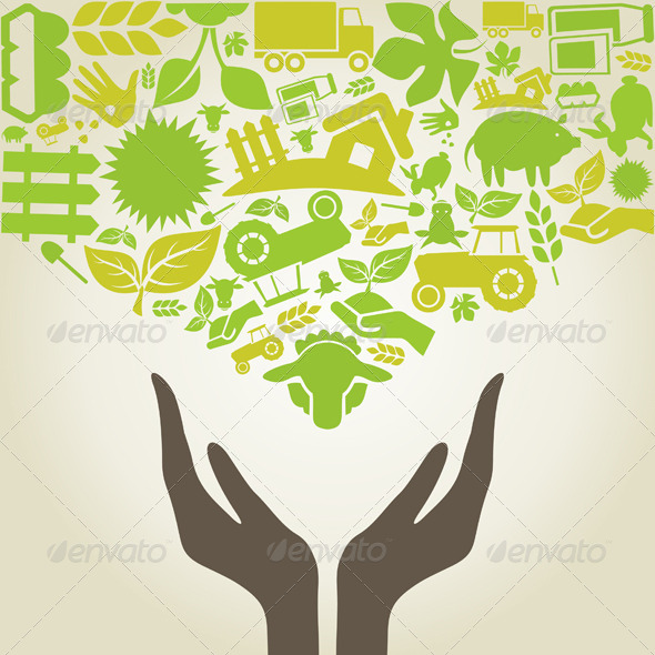 GraphicRiver Hand Agriculture 6279512