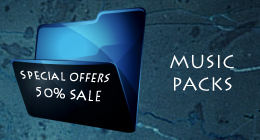 MUSIC PACKS. Sale 50% !!!