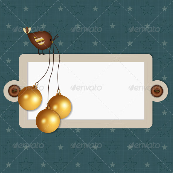GraphicRiver Christmas Scrapbook Background 6273921