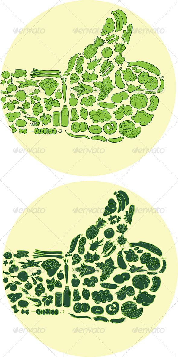 GraphicRiver Food Thumbs Up 6281637