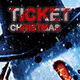 Christmas event ticket - GraphicRiver Item for Sale