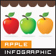 Infographic Elements - Healthy Food (Apple) - GraphicRiver Item for Sale