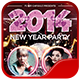 New Year Party Flyer Template 2 - GraphicRiver Item for Sale