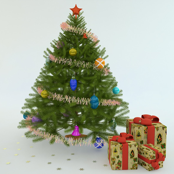 3DOcean Christmas tree 6284337