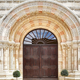 The entrance to the Dormition Abbey in Jerusalem - PhotoDune Item for Sale