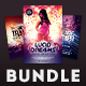 Party Flyer Bundle Vol.15 - GraphicRiver Item for Sale