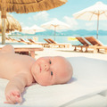 Baby on the beach - PhotoDune Item for Sale