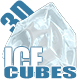 Ice cubes 3D - 3DOcean Item for Sale