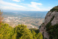 Monistrol de Montserrat the village under monastery, Spain - PhotoDune Item for Sale