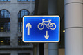 Bicycle lane sign - PhotoDune Item for Sale