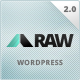 RAW - One & Multi Page Multi-Purpose Theme - ThemeForest Item for Sale