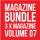3 X Magazine Collection (Mgz Bundle Vol. 07) - GraphicRiver Item for Sale