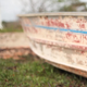 Small Boat on a Beach - VideoHive Item for Sale