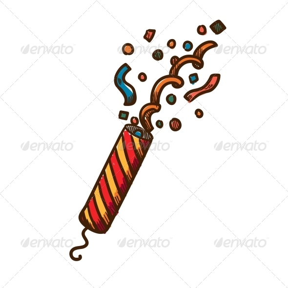 GraphicRiver Slapstick with Confetti 6292820
