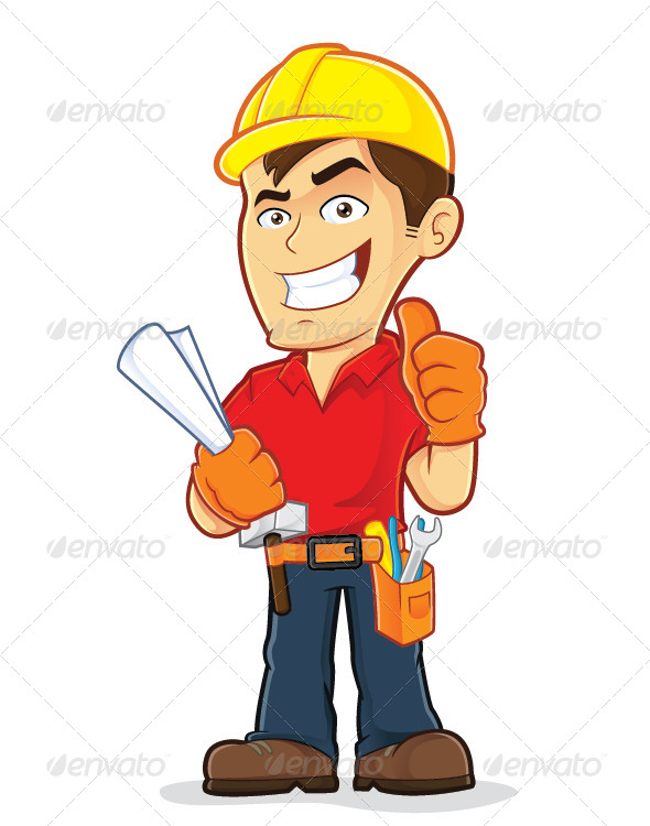 GraphicRiver Construction Worker 6293502
