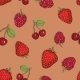 Seamless Pattern of Berries - GraphicRiver Item for Sale
