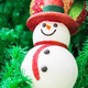 Snowman on christmas tree - PhotoDune Item for Sale