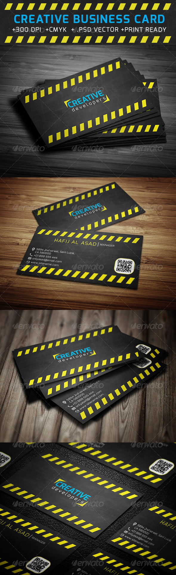 GraphicRiver Creative Business Card 6294232