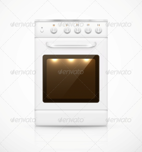 GraphicRiver Isolated Gas Stove 6294393