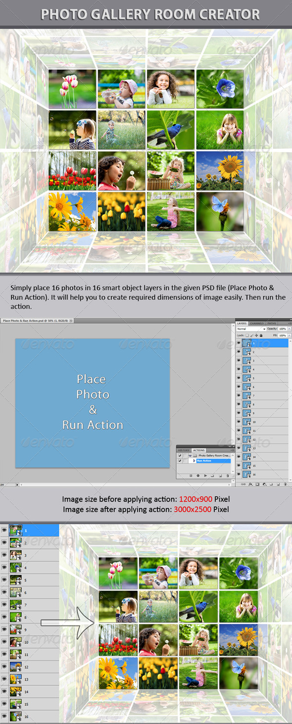 GraphicRiver Photo Gallery Room Creator 6294755