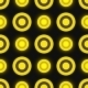 Black and Yellow Colored Retro Seamless - GraphicRiver Item for Sale