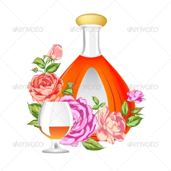 GraphicRiver Rose and Cognac Abstraction 6295253