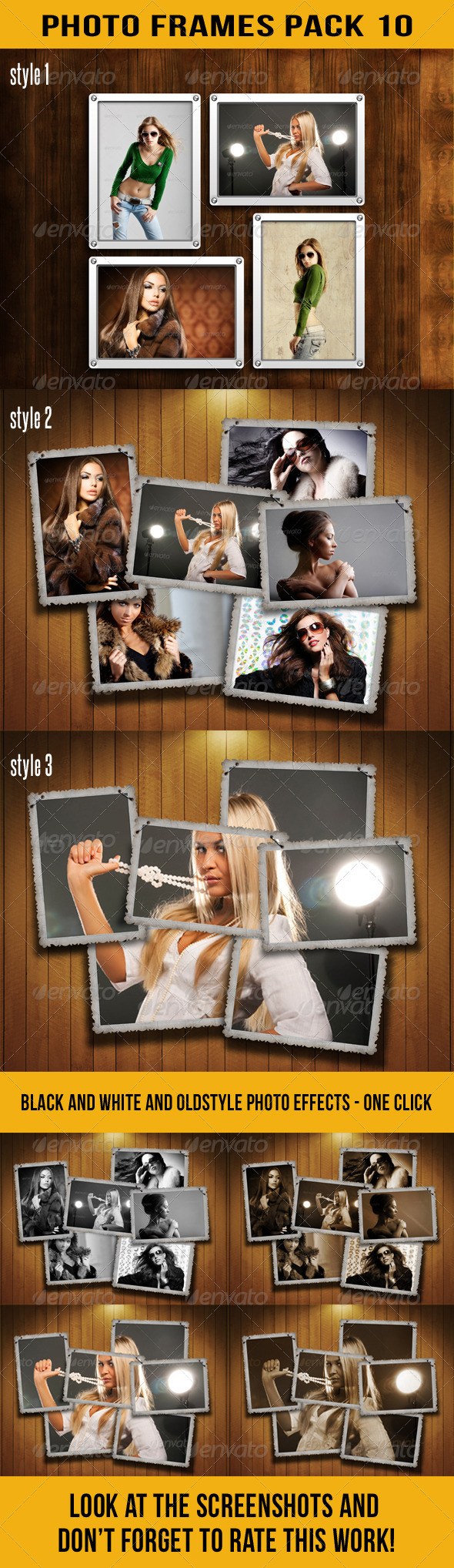 GraphicRiver Photo Frames Pack 10 6295482