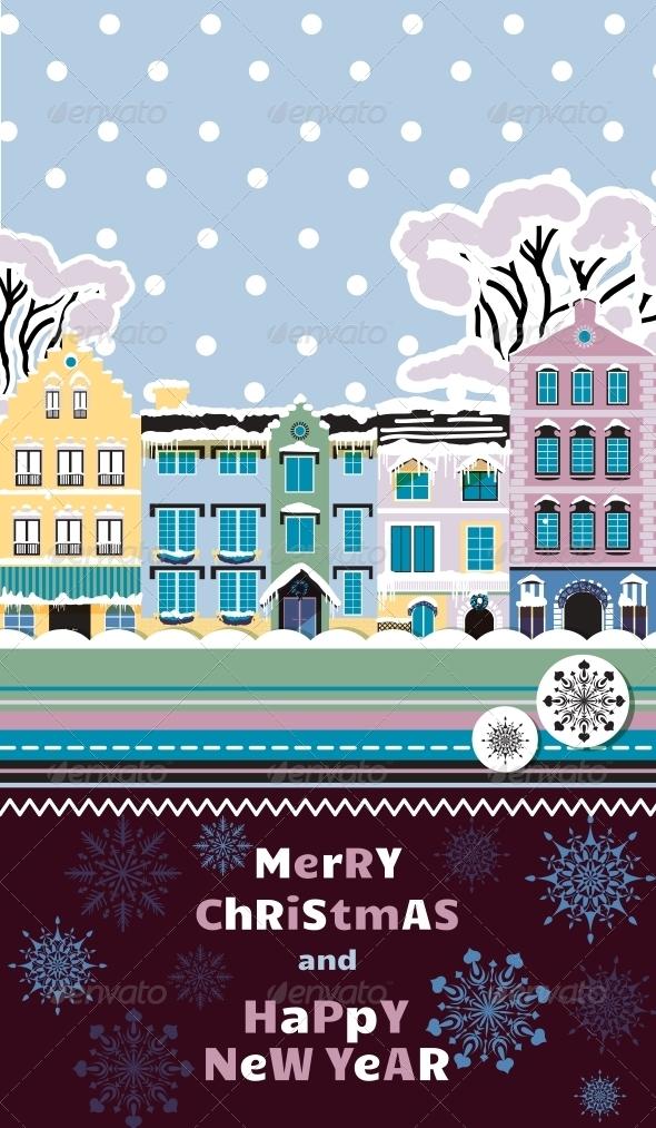 GraphicRiver Christmas Invitation Template 6295639