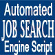 Automated Job Search Engine Script - CodeCanyon Item for Sale