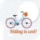 Riding is Cool - GraphicRiver Item for Sale
