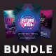 Futuristic Party Flyer Bundle - GraphicRiver Item for Sale