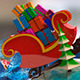 Christmas Pop-Up Book - VideoHive Item for Sale