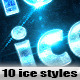 10 Ice and Frozen Effects - GraphicRiver Item for Sale