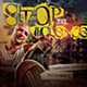 Stop the Violence: CD Cover Artwork Template
