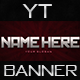 YouTube Banner V1 - GraphicRiver Item for Sale