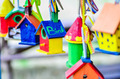 little colorful bird houses - PhotoDune Item for Sale