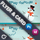 Christmas Flyer & Card Template - GraphicRiver Item for Sale