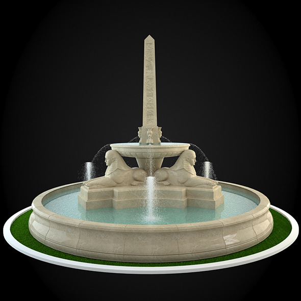 3DOcean Fountain 043 6303385