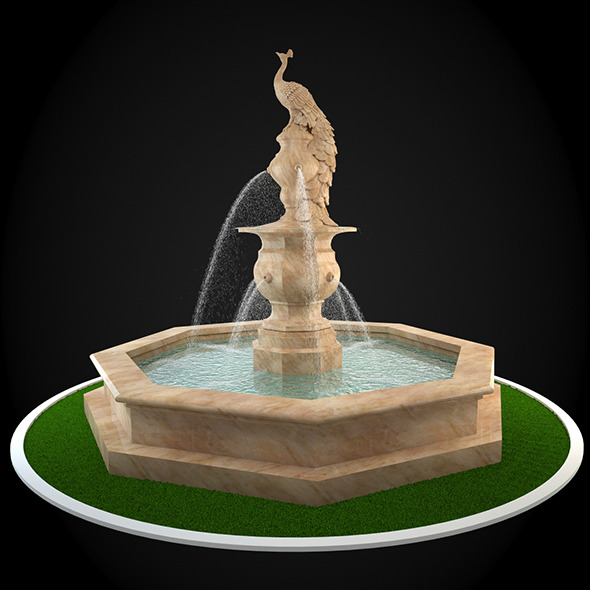3DOcean Fountain 042 6303386
