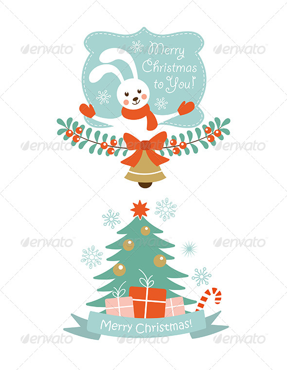 GraphicRiver Christmas Vector Elements 6303584