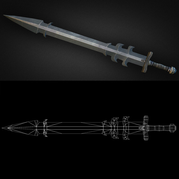 3DOcean Sword 13 6303909