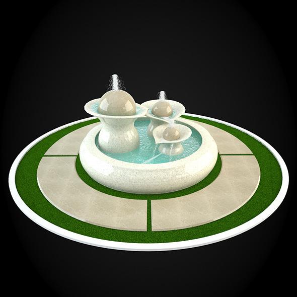 3DOcean Fountain 048 6304035