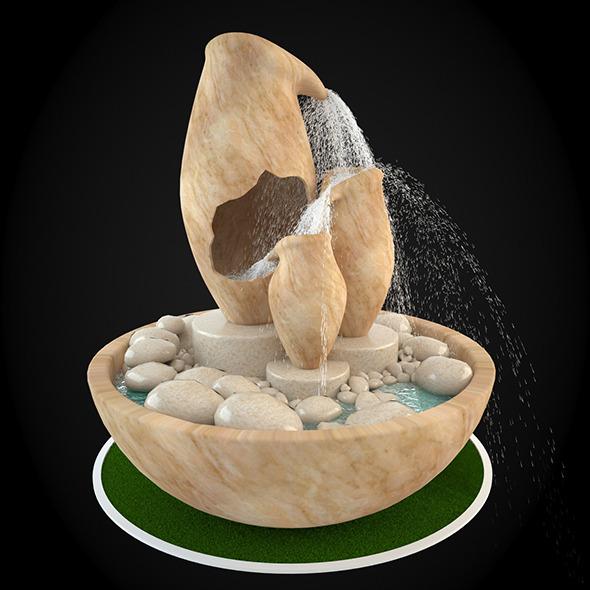 3DOcean Fountain 051 6304245