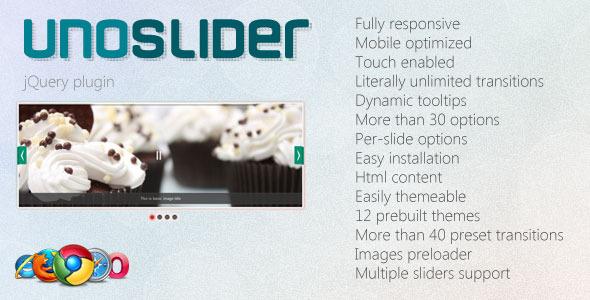 UnoSlider - Responsive Touch Enabled Slider - CodeCanyon